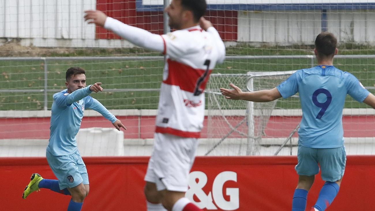 0-2. El Atlético B conquista Matapiñonera