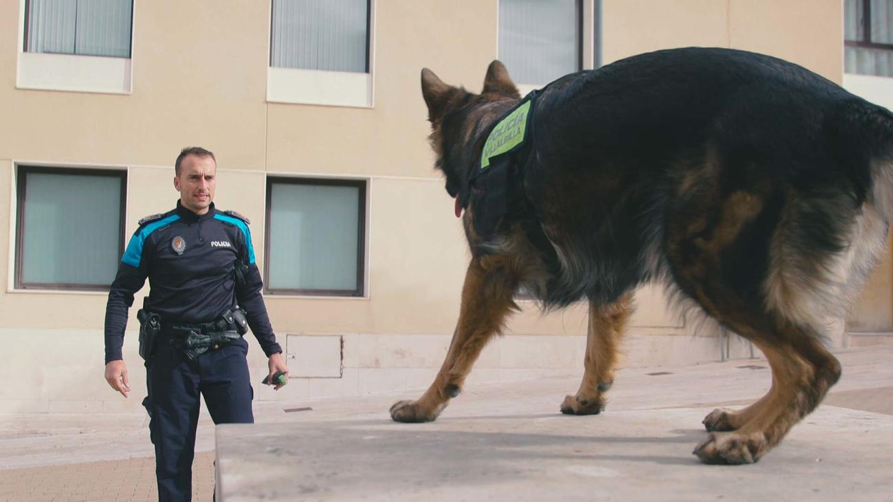 Agente Kloe, la policía más especial de Villalbilla