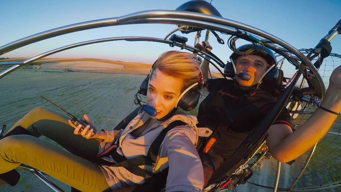 Aeromodelismo y paramotor, aficiones de altos vuelos en Humanes