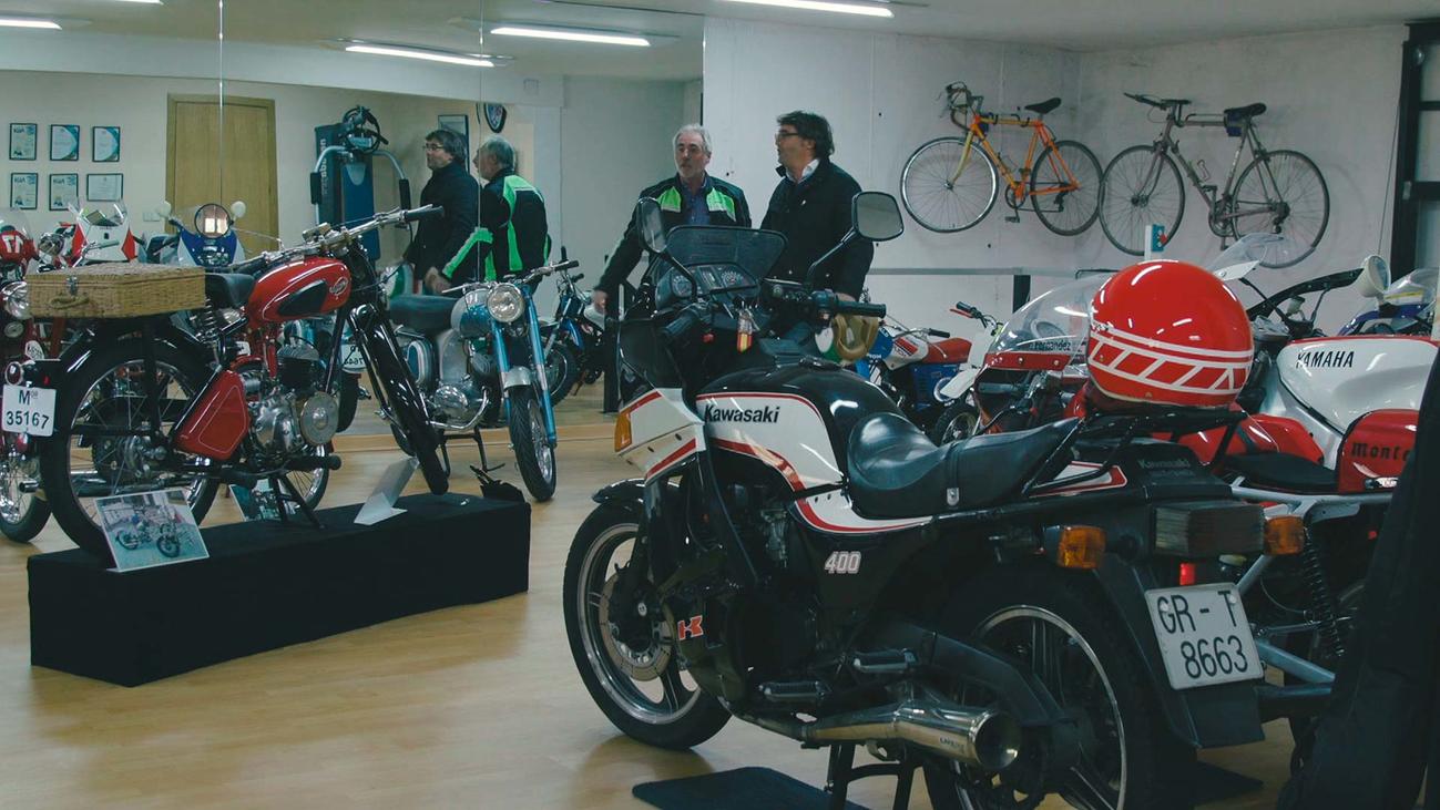 La colección de motos de Julio Fernández, una de las mayores de Madrid