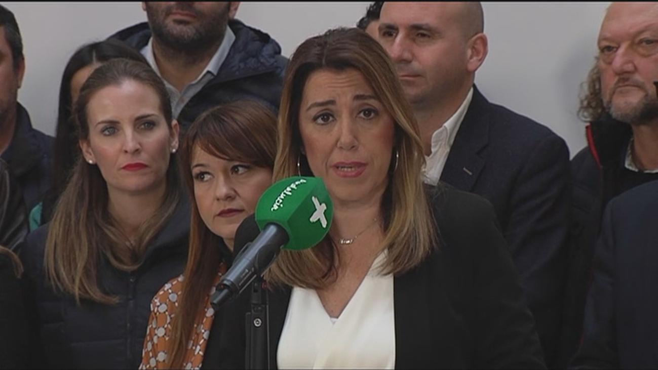 Susana Díaz no renuncia a formar Gobierno pese a que Ábalos insinúa su dimisión