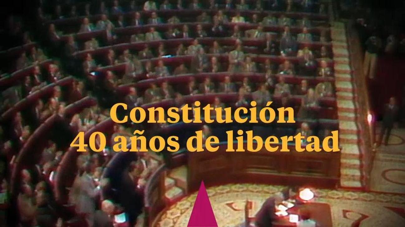 Estreno de 'Constitución: 40 años de libertad' en la noche de este martes
