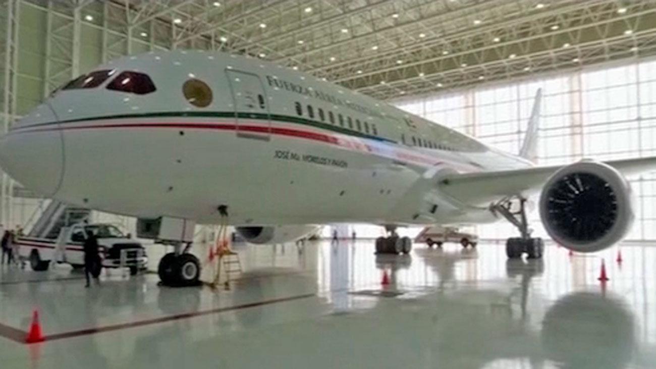 El avión presidencial de México en venta como parte del programa de austeridad de López Obrador