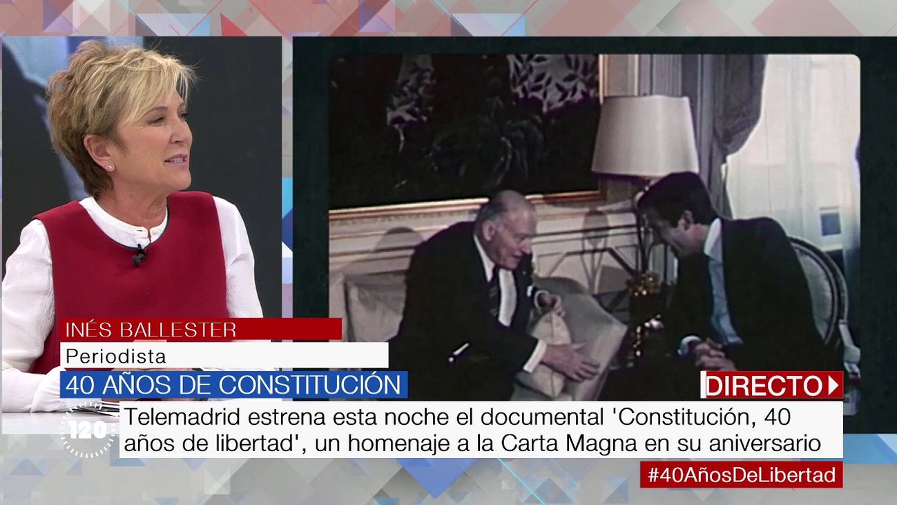 Inés Ballester desvela todos los detalles del documental que rinde homenaje a la Constitución