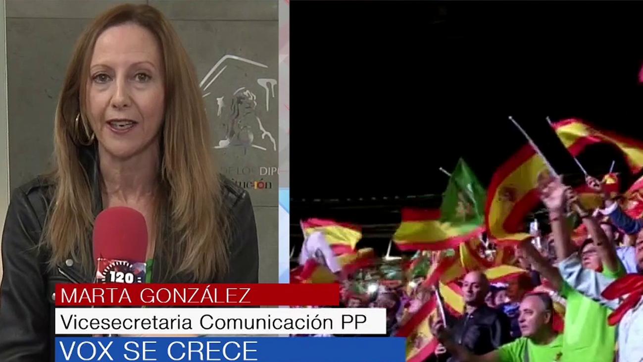 """Marta Gómez (PP): """"La llegada de Vox es algo que todos veíamos que iba a pasar"""""""