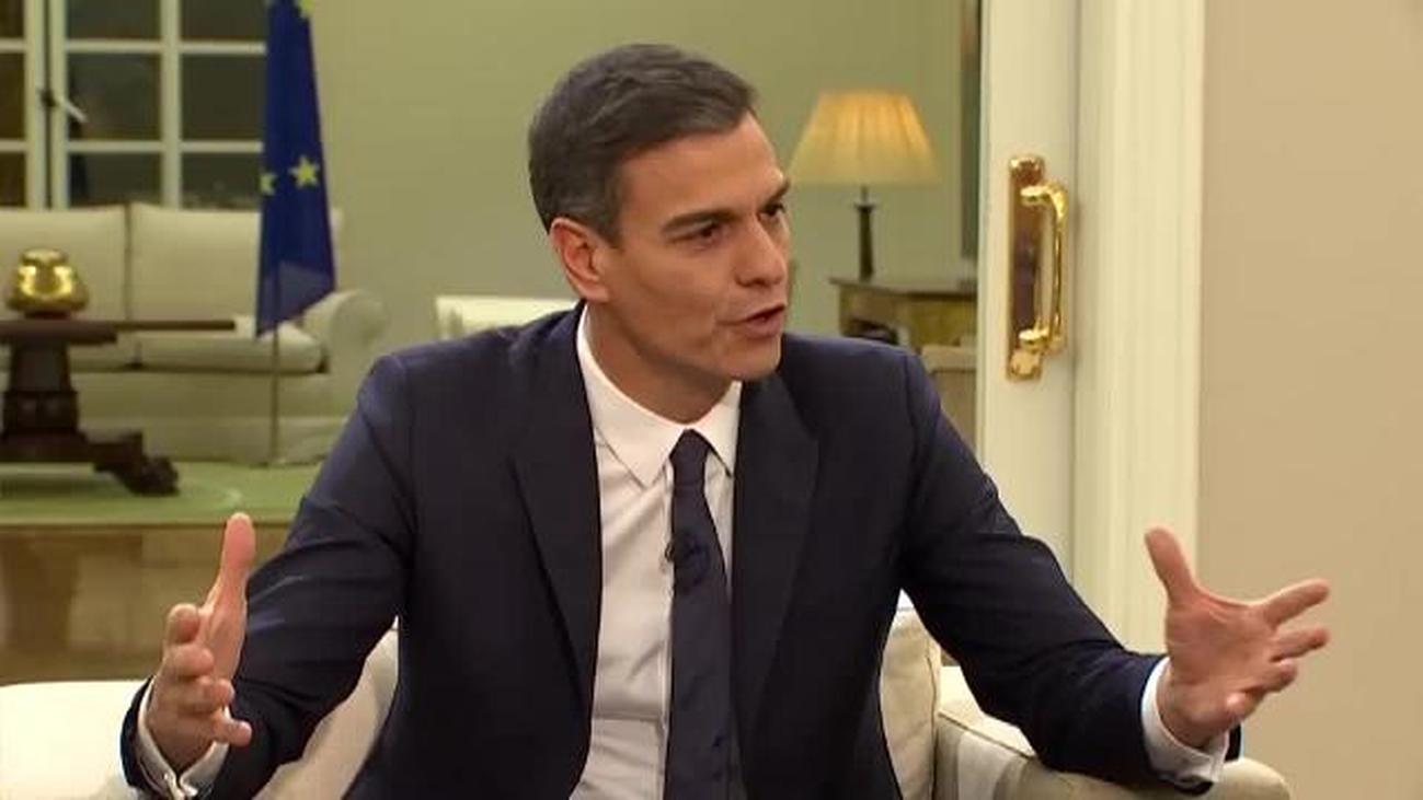 """Pedro Sánchez, sobre Cataluña: """"Hay que regenerar el modelo institucional mirando a Europa"""""""