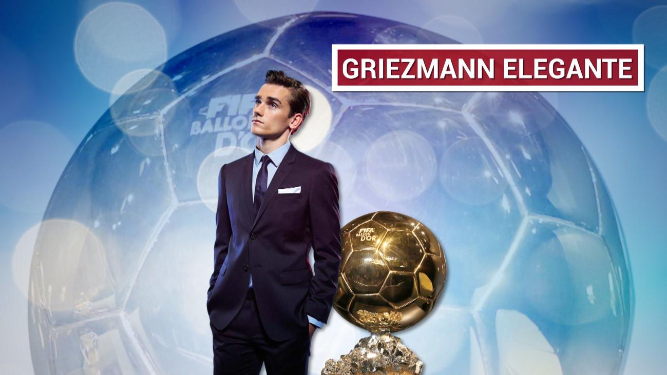 Griezmann, decepcionado por no ganar el Balón de Oro