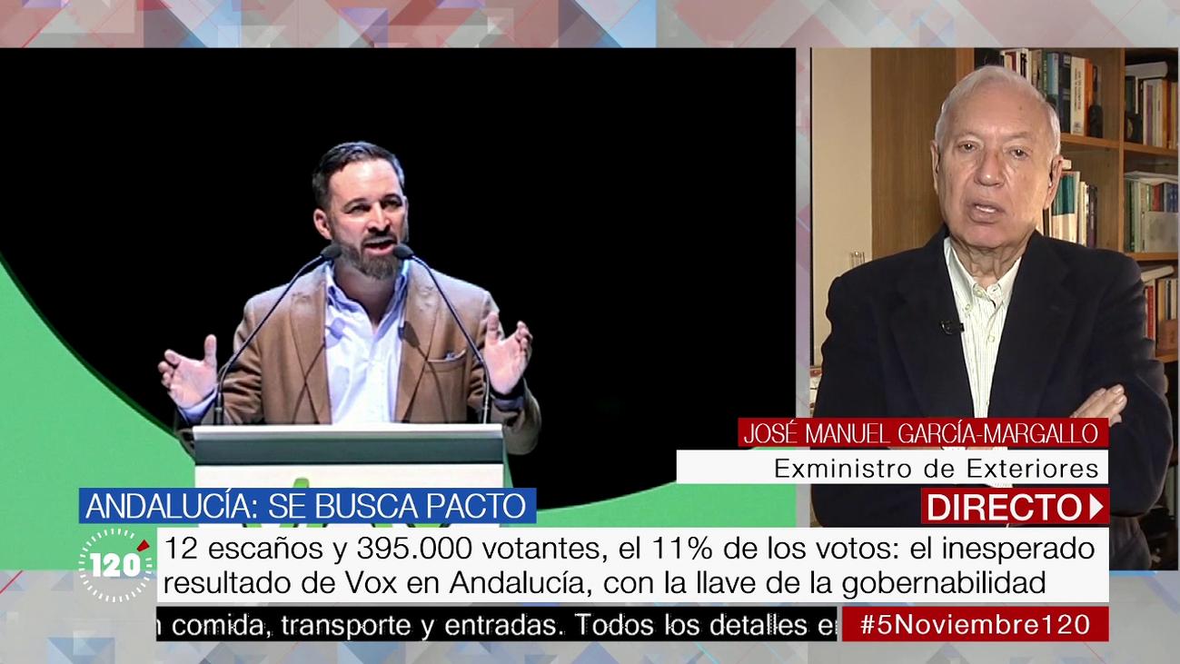 """García-Margallo: """"Cataluña y la inmigración han disparado el voto a Vox"""""""