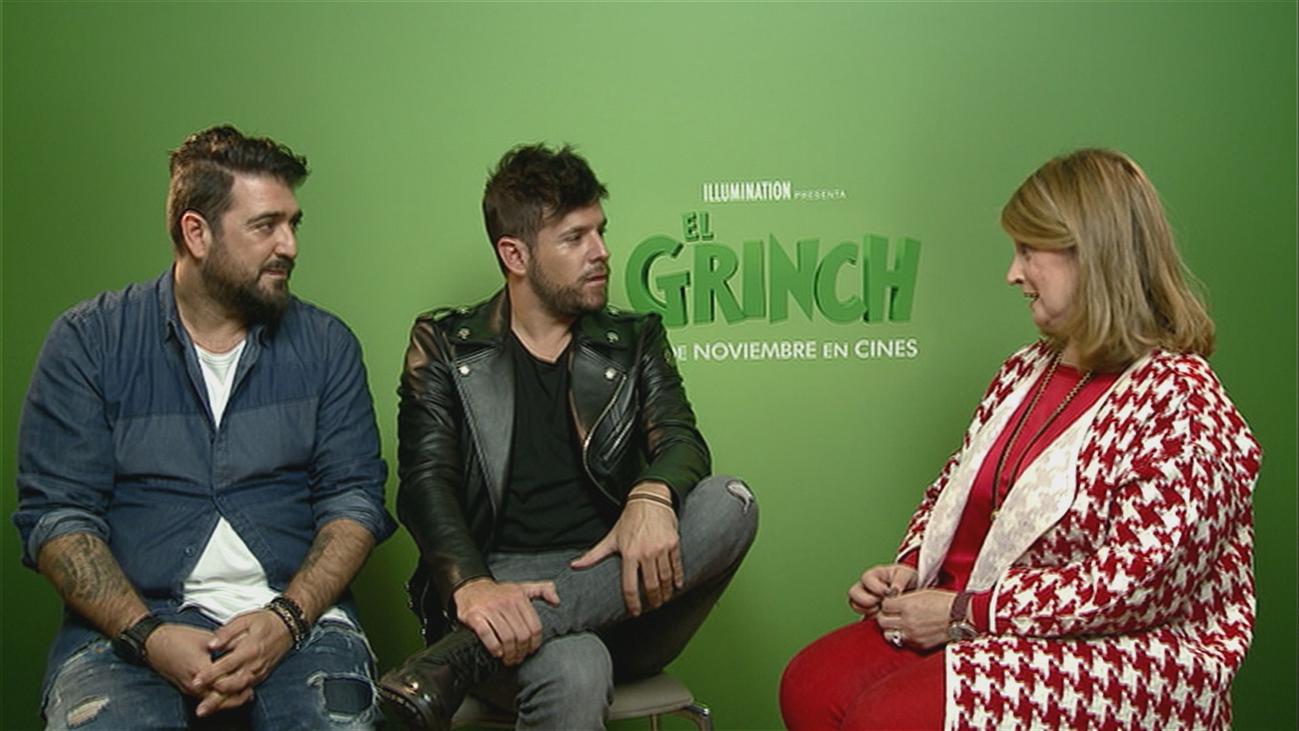 Antonio Orozco y Pablo López unen sus voces por El Grinch