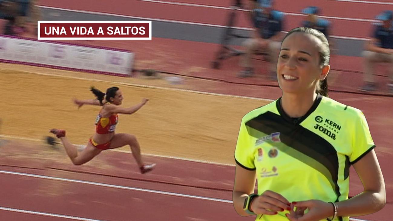 Patricia Serrapio, toda una vida en tres saltos