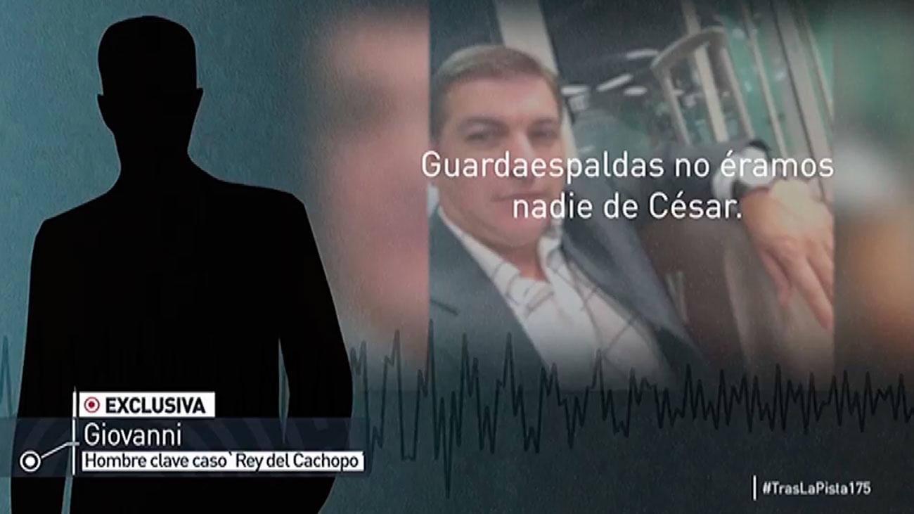 """Primera entrevista con Giovanni, hombre clave en el caso """"Rey del Cachopo"""""""