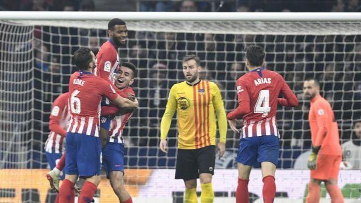 4-0. El Atletico pasa a octavos goleando al Sant Andreu
