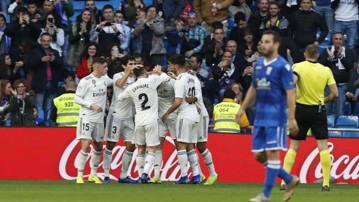 6-1. Los 'suplentes' del Madrid superan el trámite ante el Melilla
