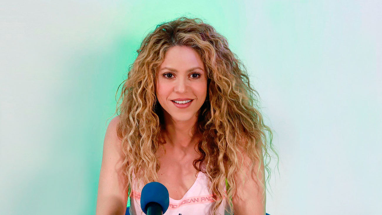 Imagen de archivo de la cantante Shakira