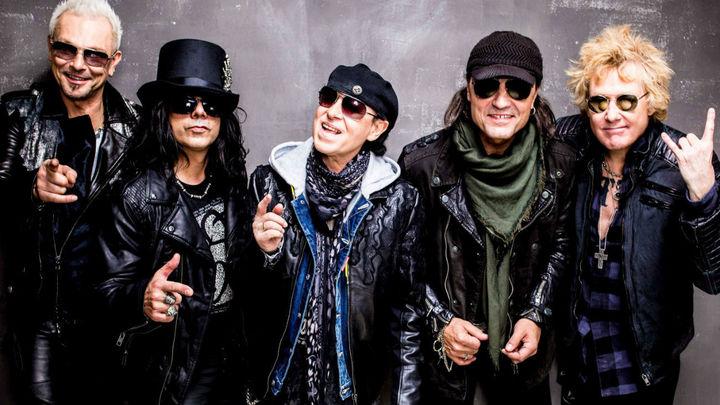 La banda alemana Scorpions actuará en Madrid dentro del Download Festival