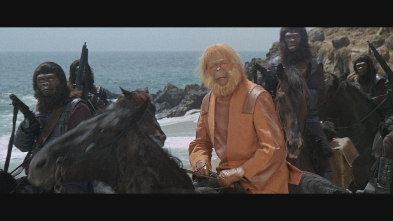 """El papelón de Charlton Heston: """"El planeta de los simios"""""""