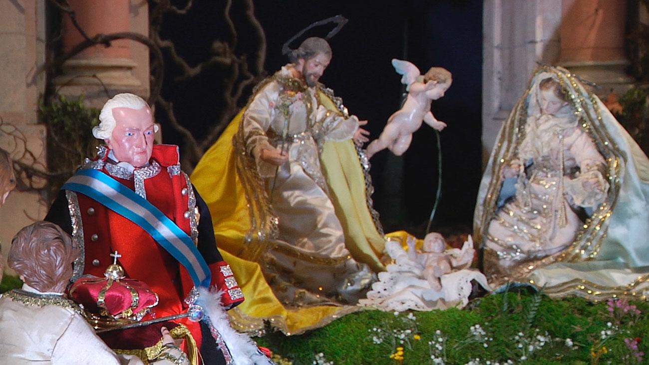 El belén napolitano del Palacio Real, una joya de la Navidad