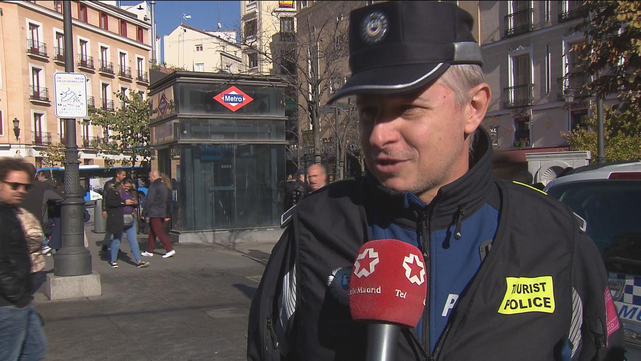 Consejos básicos de seguridad para moverse por el centro de Madrid