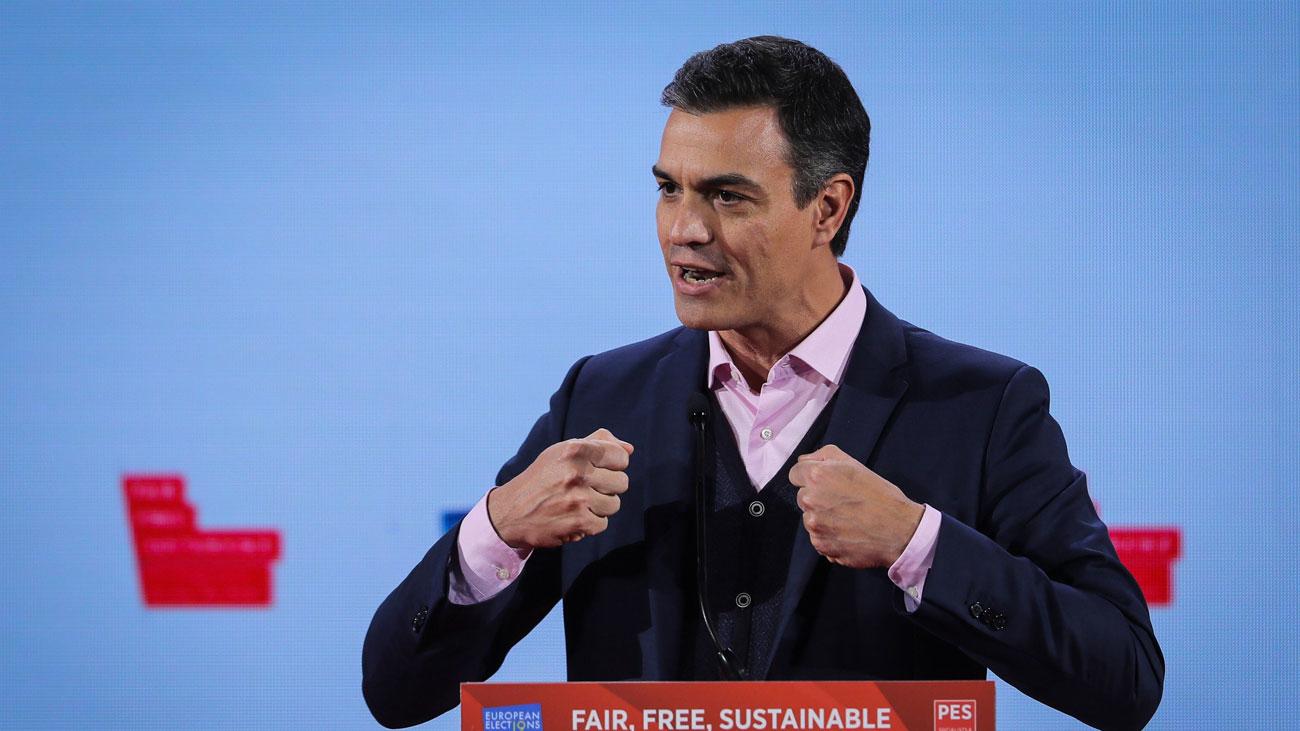 """Sánchez alerta de la extrema derecha ante las europeas y pide """"hacer más"""""""