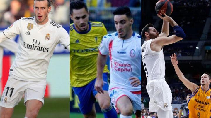 El Madrid gana al Huesca (0-1), al 'Granca' (87-63) y pierde el Majadahonda (1-0)