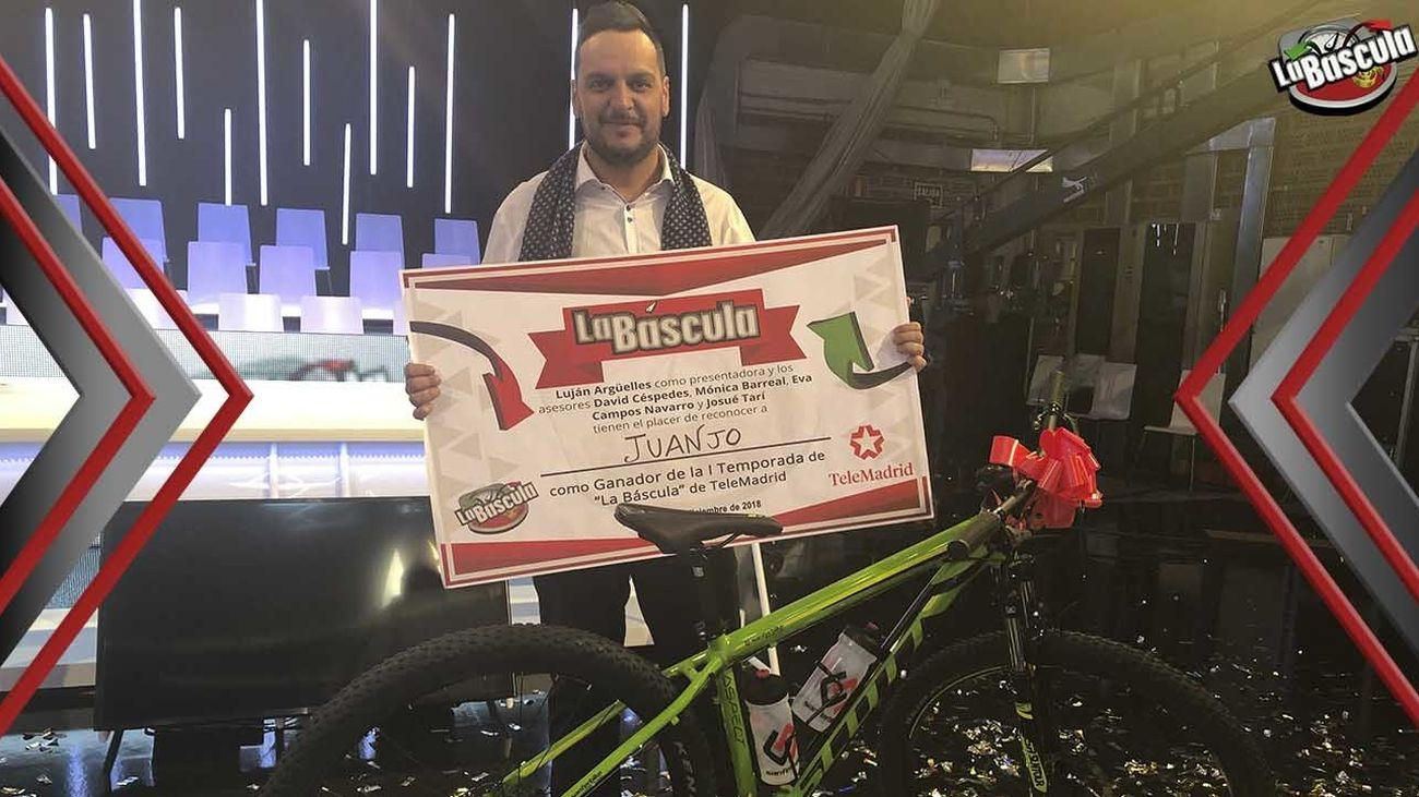 """Juanjo se proclama ganador de la primera edición de """"La Báscula"""""""