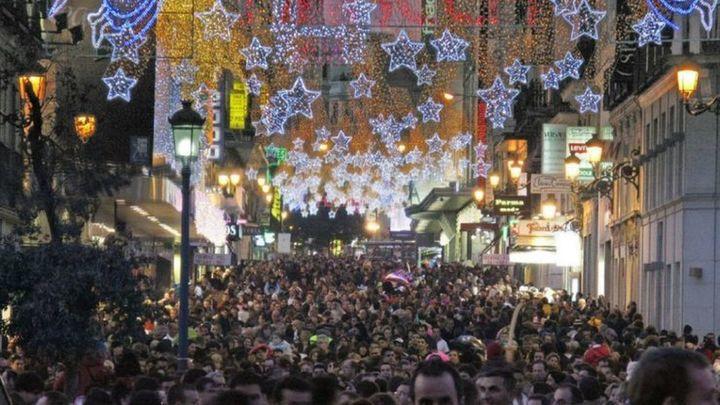 Los madrileños gastarán una media de 700 euros en compras navideñas