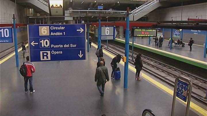 Nueva jornada de paros parciales en las líneas 10 y 6 del Metro