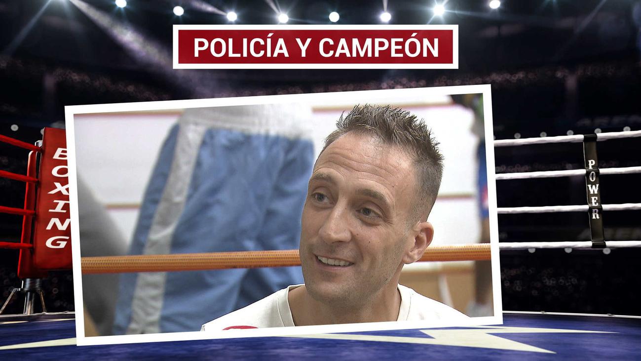 Jesús Lanzarote, el campeón de boxeo de Valdemoro