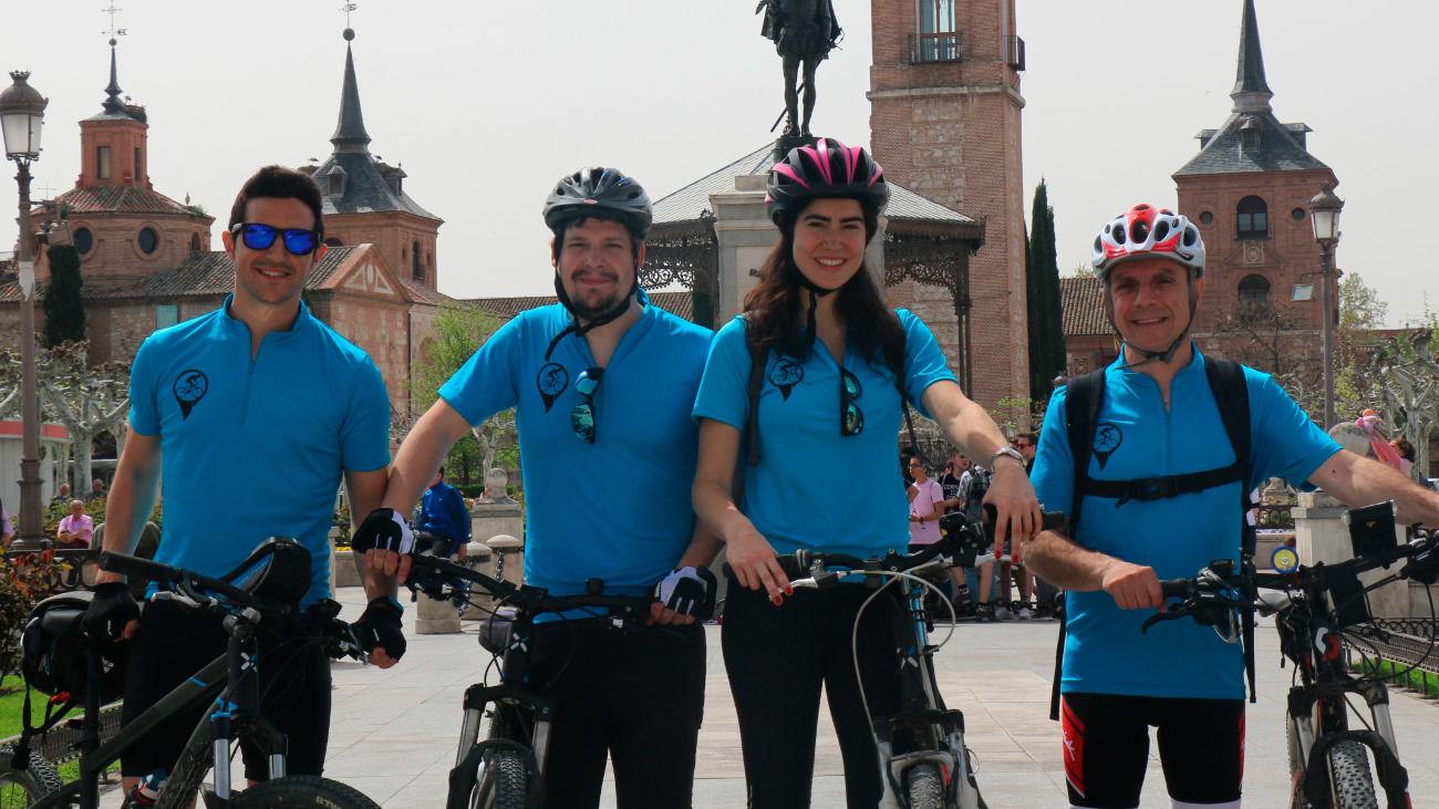 Km de bicicleta: Valle de los ríos Henares y Jarama: Alcalá de Henares-Rivas Vaciamadrid