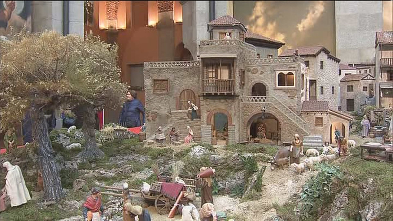 El belén de Madrid más grande de los últimos años: 150 m² de obra artesanal