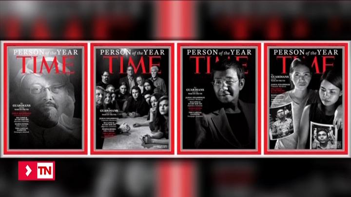 Time atribuye 'Personas del año' al colectivo de periodistas acosados por contar la verdad