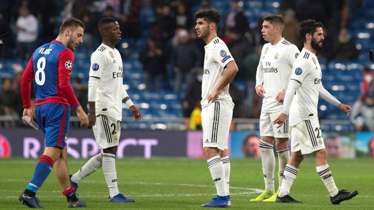 0-3. El CSKA golea al Real Madrid