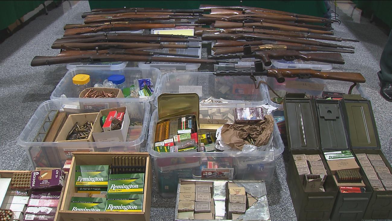 La Guardia Civil retira 3.050 armas de fuego del mercado negro desde 2015