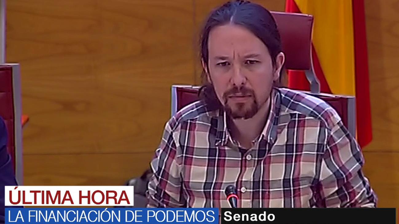 """Pablo Iglesias, contundente: """"No ha habido financiación de Venezuela a Podemos"""""""