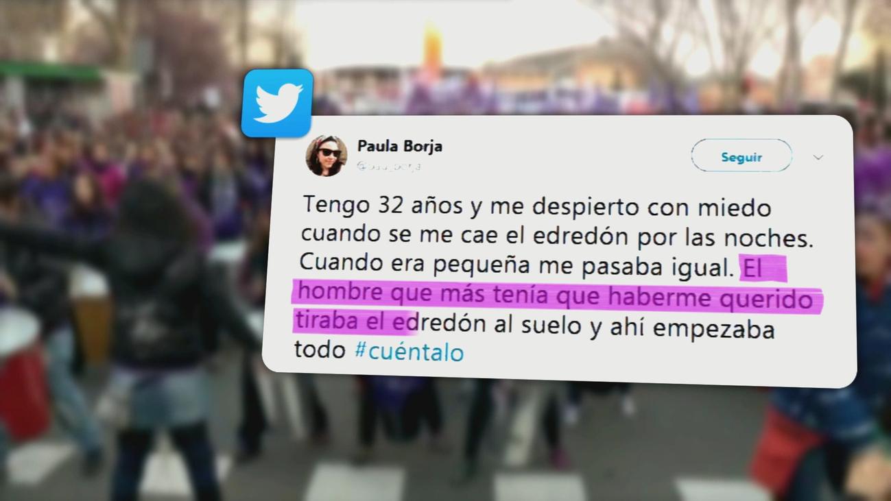 El movimiento #Cuéntalo recopila 150.000 relatos de abusos contra las mujeres