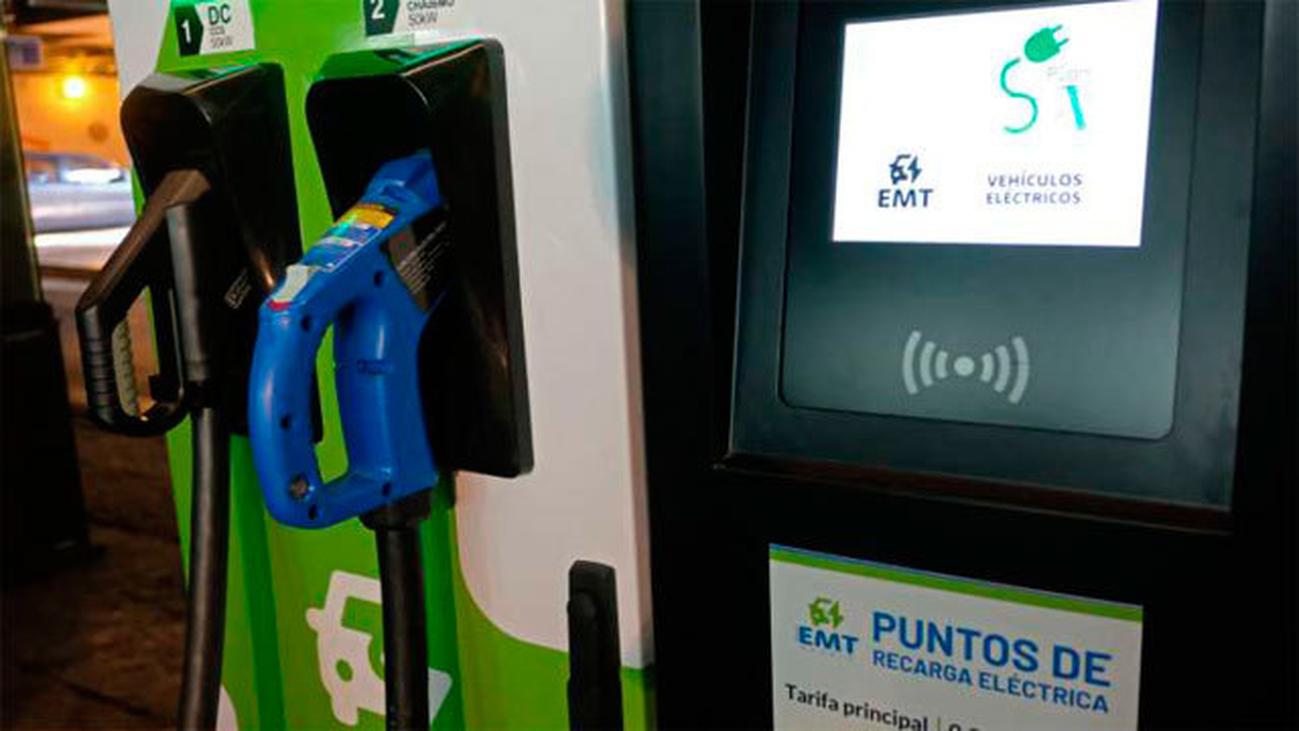 Madrid tendrá 20 nuevos puntos de recarga en gasolineras para coches eléctricos