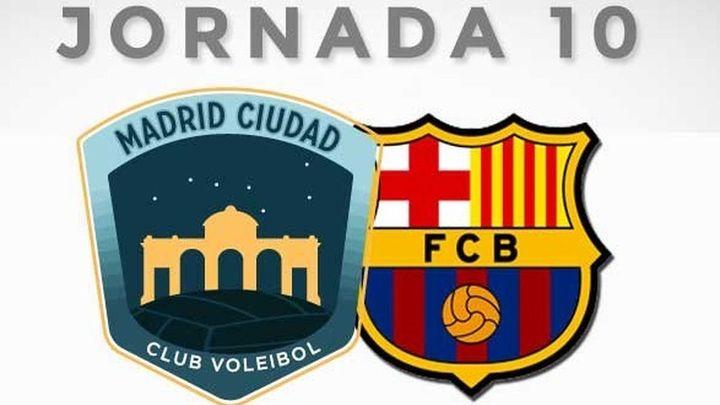 Este sábado, clásico en voley Madrid-Barça