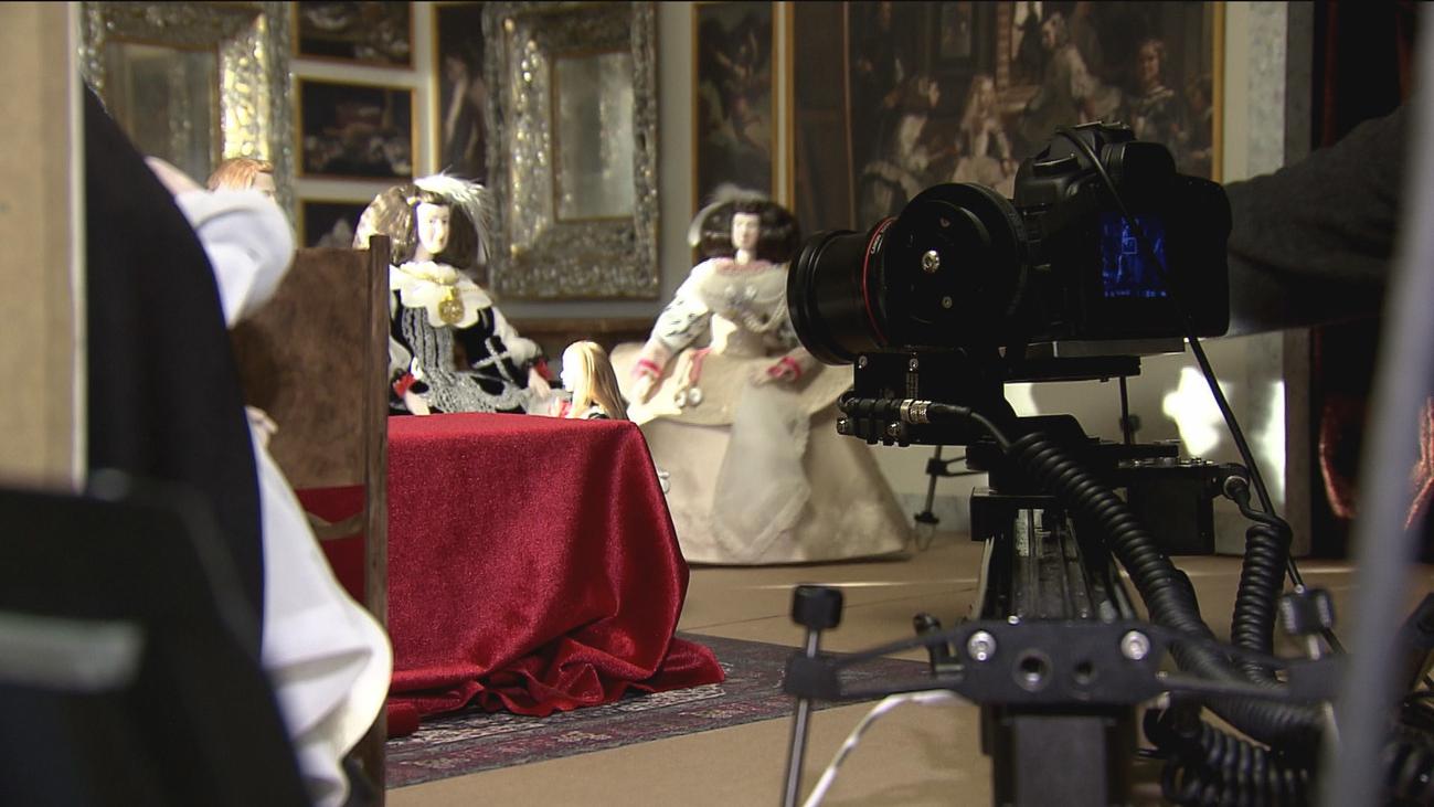 'Las Meninas' de Velázquez, a través de un 'docuthriller' de Andrés Sanz