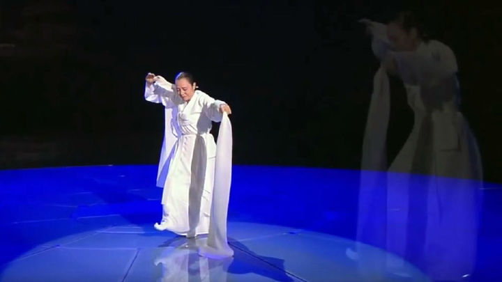 Matadero Madrid acoge en la feria internacional cultural con danza tradicional coreana