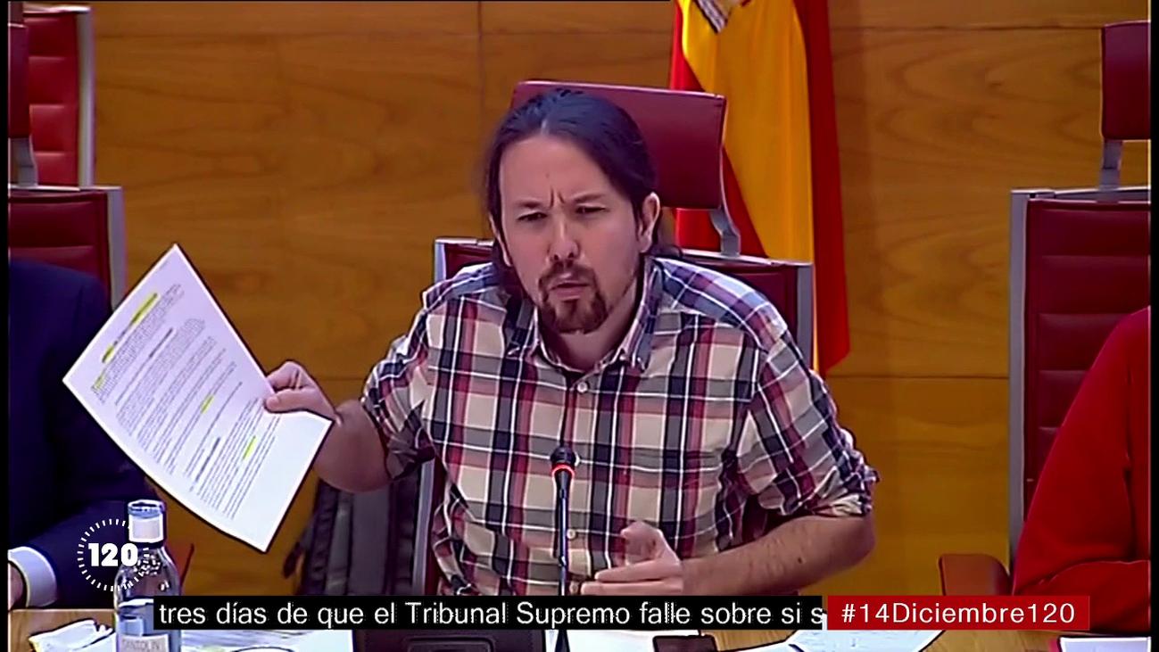 Bronca, tensión y versos entre Pablo Iglesias y el PP en el Senado