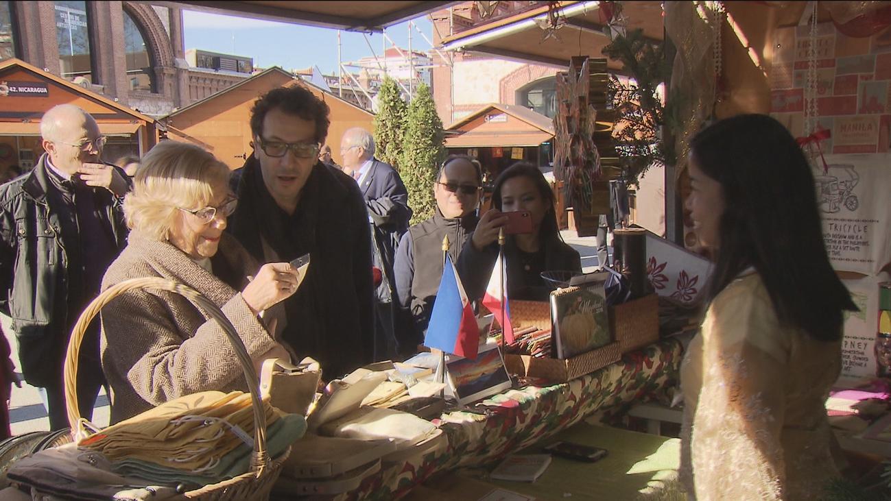 Arranca la Feria de las Culturas, donde 55 países celebran la Navidad en Madrid