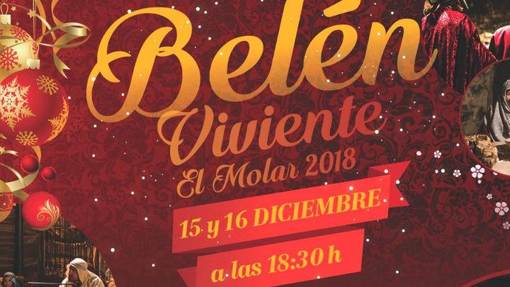 Más de 150 actores participan en el Belen viviente del Molar este fin de semana