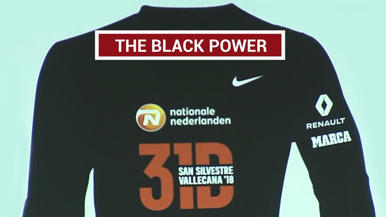 La San Silvestre Vallecana se tiñe de negro