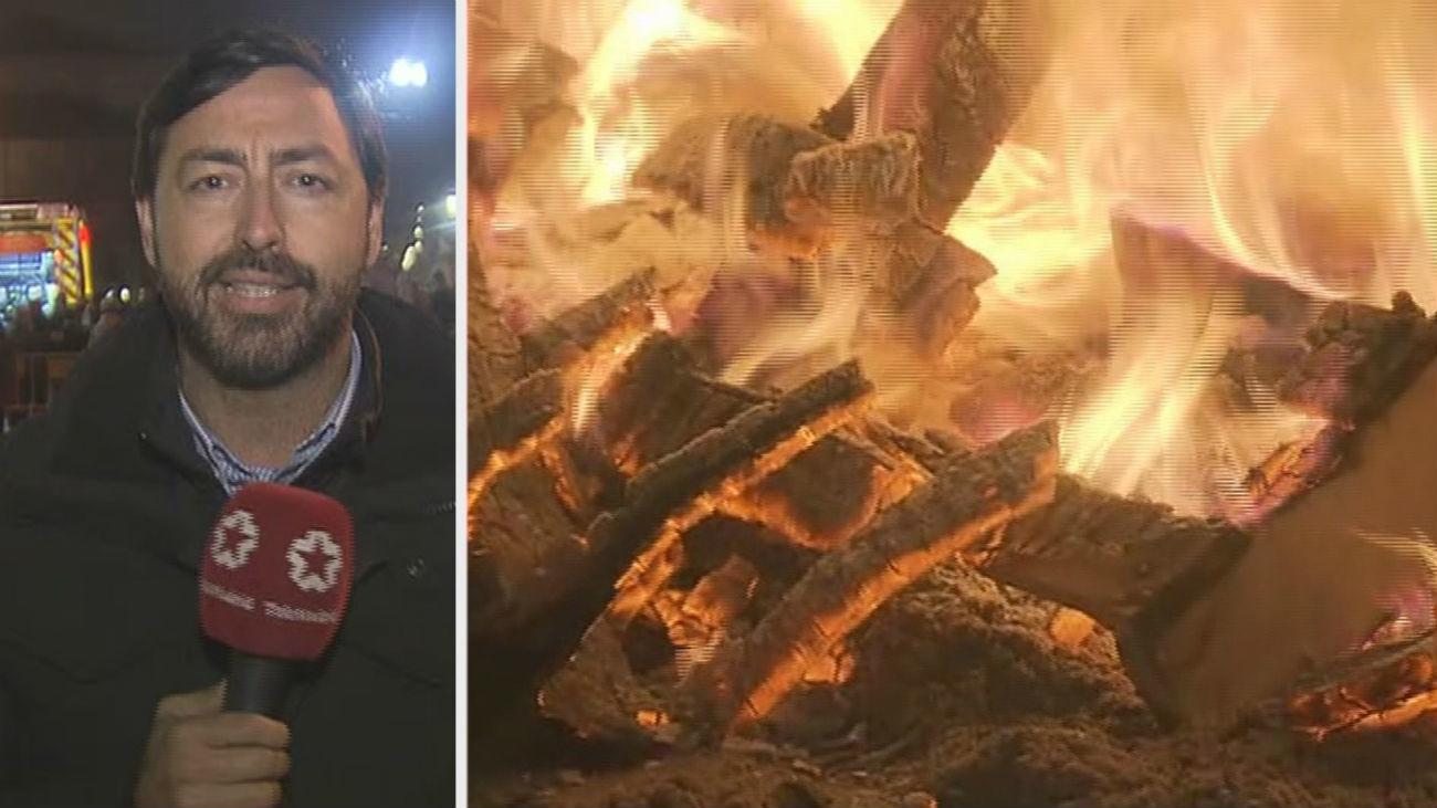 Hogueras de Santa Lucía en Alcalá para quemar los trastos viejos