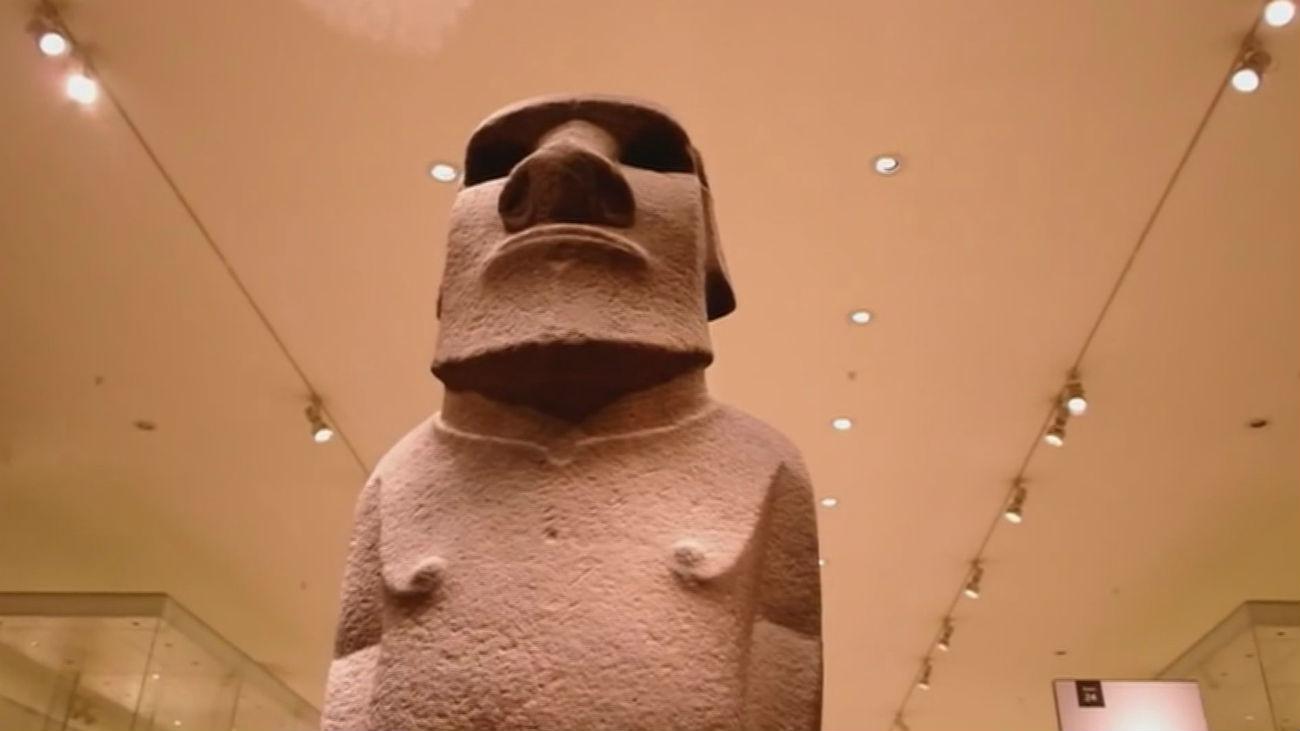 La isla de Pascua reclama el regreso del Moai del Museo Británico