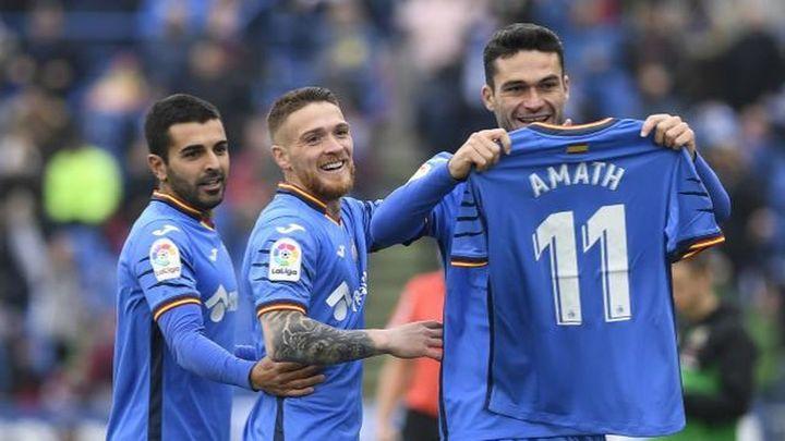 Gol de Jorge Molina a la Real Sociedad (1-0)