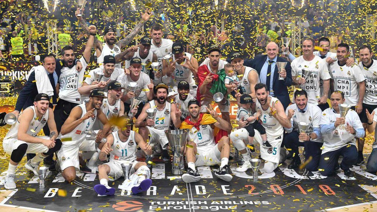 Real Madrid, campeón de la Euroliga 2018