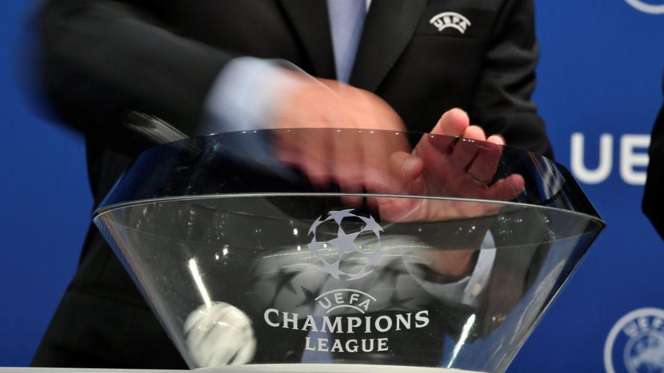 Sorteo de la Liga de Campeones
