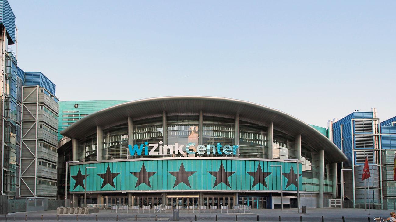 Wizink Center, lugar donde se celebran la mayor parte de los conciertos de la capital.
