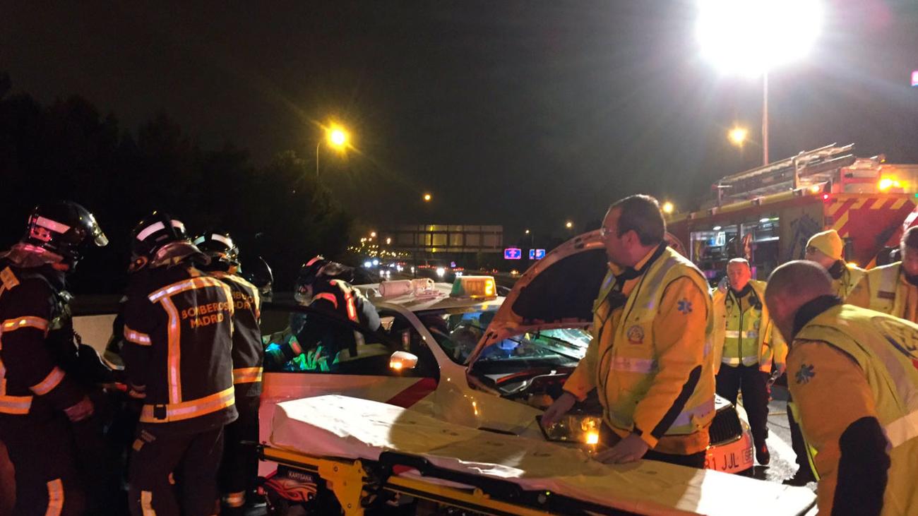El conductor que provocó un accidente en la M-30 ha dado positivo en alcohol y drogas